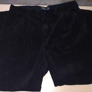 Ralph Lauren Pants - Ralph Lauren black corduroys 40/32